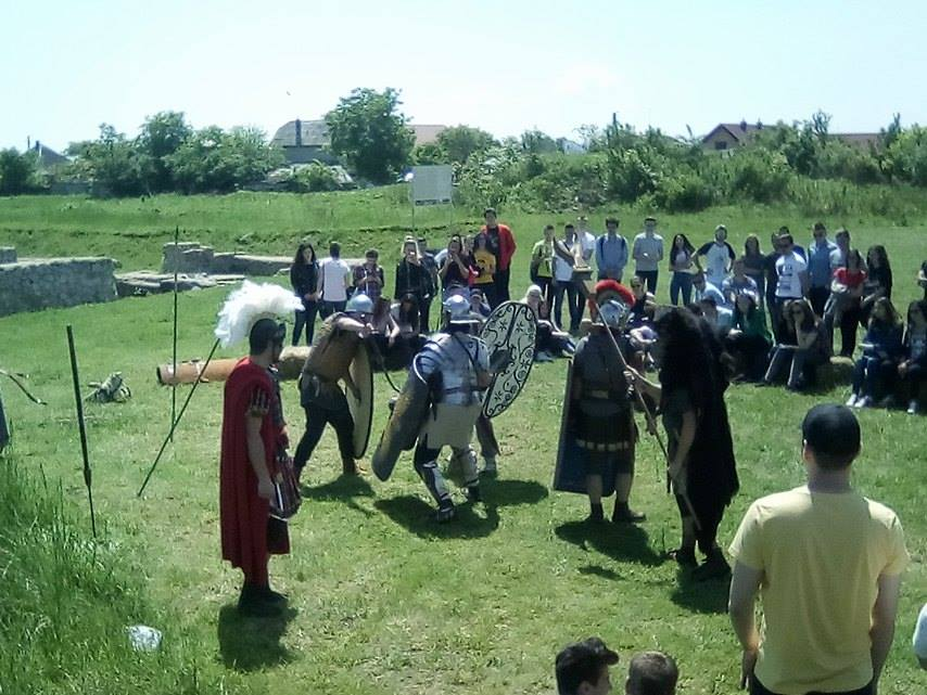 Reîntoarcerea legionarilor în castrul de la Potaissa
